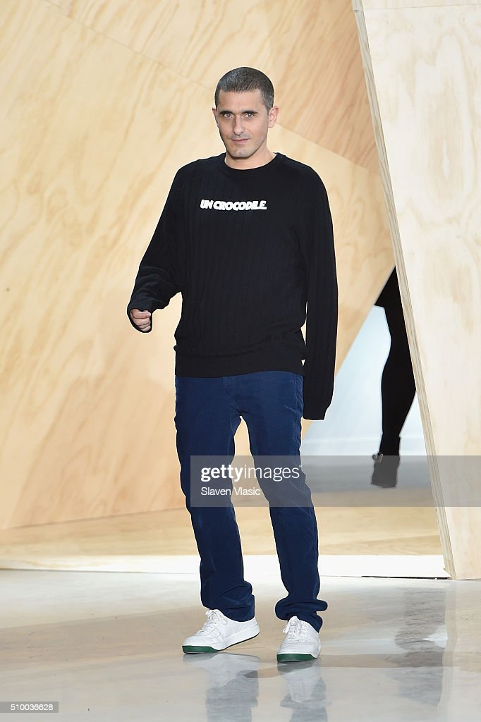 Felipe Baptista attends Lacoste Fall 2016 during New York Fashion Week at Spring Studios on February 13, 2016 in New York City.