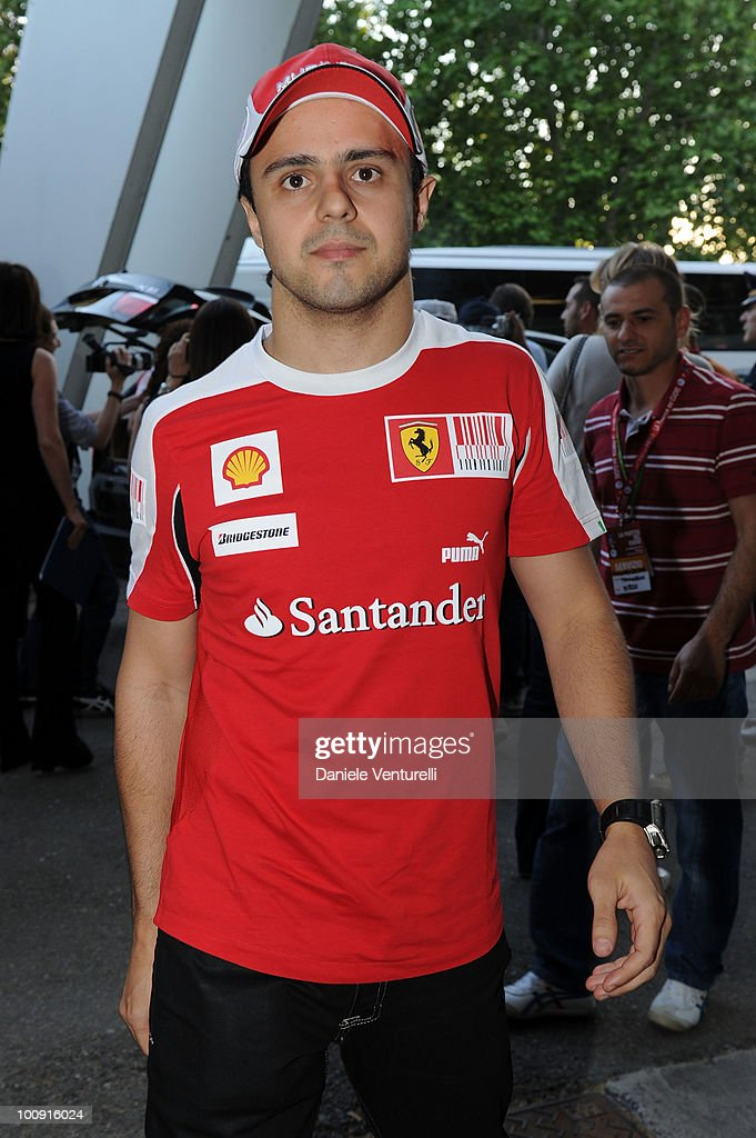ACCESS** <a gi-track='captionPersonalityLinkClicked' href=/galleries/search?phrase=Felipe+Massa&family=editorial&specificpeople=206660 ng-click='$event.stopPropagation()'>Felipe Massa</a> attends the XIX Partita Del Cuore charity football game at on May 25, 2010 in Modena, Italy.