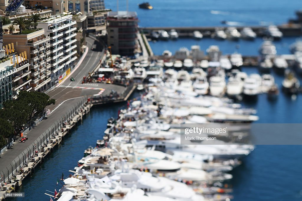 Felipe Massa of Brazil and Ferrari drives during practice for the Monaco Formula One Grand Prix at the Circuit de Monaco on May 23, 2013 in Monte-Carlo, Monaco.