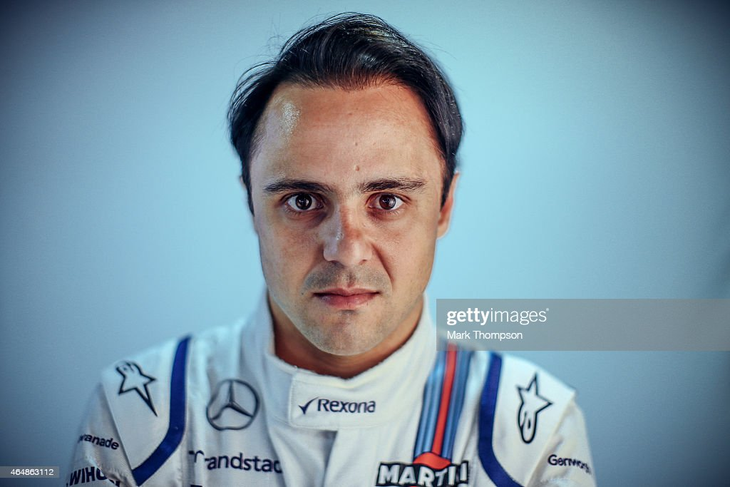 <a gi-track='captionPersonalityLinkClicked' href=/galleries/search?phrase=Felipe+Massa&family=editorial&specificpeople=206660 ng-click='$event.stopPropagation()'>Felipe Massa</a> of Brazil and Williams poses for a portrait during day three of Formula One Winter Testing at Circuit de Catalunya on February 21, 2015 in Montmelo, Spain.