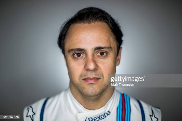 Felipe Massa of Brazil and Williams poses for a portrait during the final day of Formula One winter testing at Circuit de Catalunya on March 10 2017...