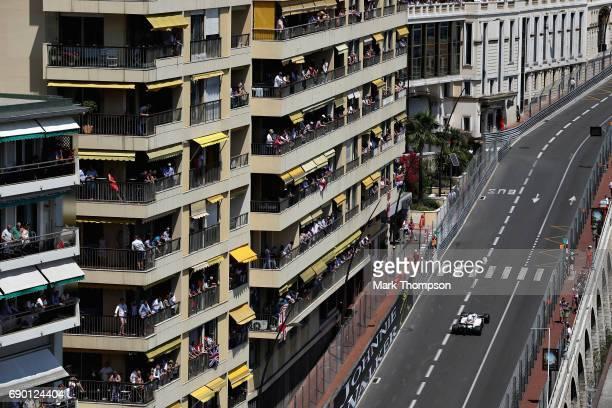 Felipe Massa of Brazil driving the Williams Martini Racing Williams FW40 Mercedes on track during the Monaco Formula One Grand Prix at Circuit de...