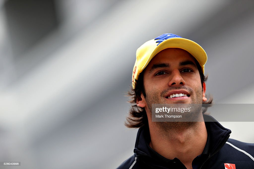 <a gi-track='captionPersonalityLinkClicked' href=/galleries/search?phrase=Felipe+Nasr&family=editorial&specificpeople=7881965 ng-click='$event.stopPropagation()'>Felipe Nasr</a> of Brazil and Sauber F1 in the Paddock during practice for the Formula One Grand Prix of Russia at Sochi Autodrom on April 29, 2016 in Sochi, Russia.