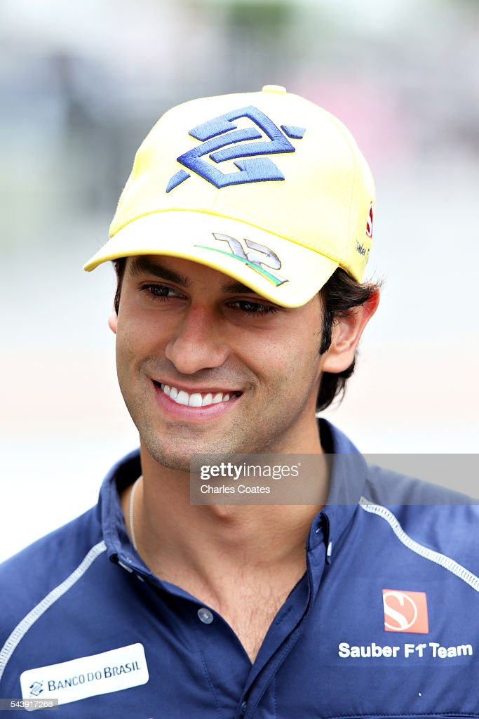 <a gi-track='captionPersonalityLinkClicked' href=/galleries/search?phrase=Felipe+Nasr&family=editorial&specificpeople=7881965 ng-click='$event.stopPropagation()'>Felipe Nasr</a> of Brazil and Sauber F1 in the Paddock during previews ahead of the Formula One Grand Prix of Austria at Red Bull Ring on June 30, 2016 in Spielberg, Austria.