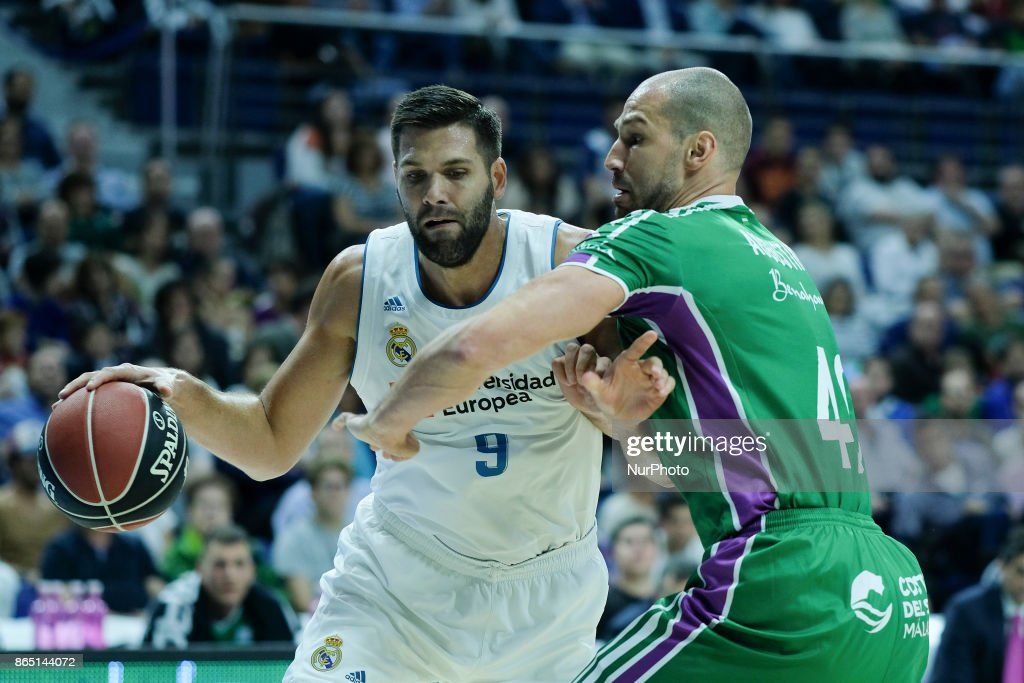 Real Madrid v Unicaja Malaga - ACB basketball league
