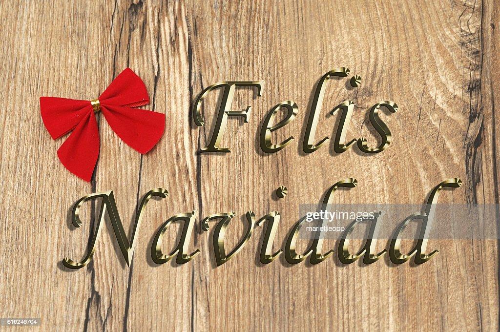 Felis Navidad : Foto de stock