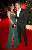 Felix Baumgartner and Micaela Schwarzenberger during the 20th Annual Jose Carreras Gala on December 18 2014 in Rust Germany
