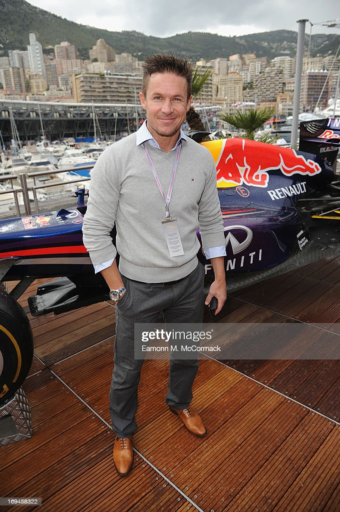 <a gi-track='captionPersonalityLinkClicked' href=/galleries/search?phrase=Felix+Baumgartner&family=editorial&specificpeople=787796 ng-click='$event.stopPropagation()'>Felix Baumgartner</a> at the Red Bull Energy Station, Circuit de Monaco on May 24, 2013 in Monte-Carlo, Monaco.