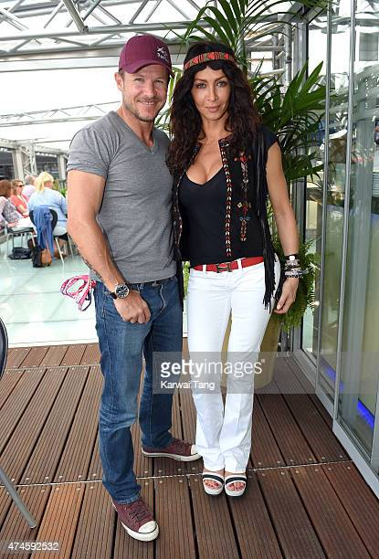 Felix Baumgartner attends the Infiniti Red Bull Racing Energy Station at Monte Carlo on May 24 2015 in Monte Carlo Monaco