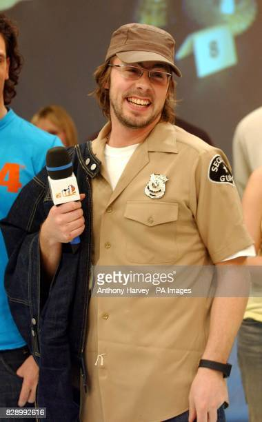 Felix Buxton from Basement Jaxx during his guest appearance on MTV's TRL UK at the MTV Studios in Camden north London The singer collaborated with...