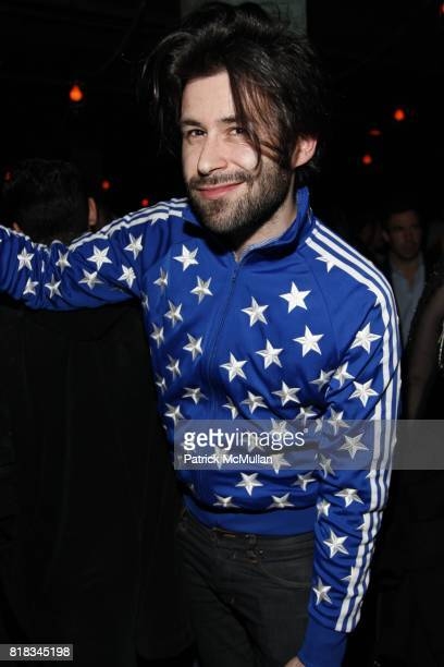 Felix Carrizo attends INTERVIEW 40th Anniversary In GOOD UNITS at Hudson Hotel at Good Units on February 9 2010 in New York City