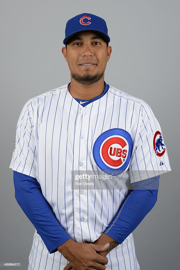 Felix Doubront #22 of the Chicago Cubs poses during Photo Day on Monday, March 2, 2015 at Sloan Park in Mesa, Arizona.