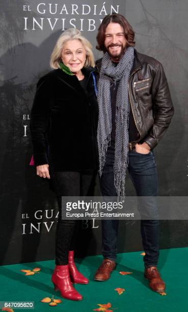 Felix Gomez and Beatriz de Orleans attend 'El Guardian Invisible' premiere at Capitol cinema on March 1 2017 in Madrid Spain