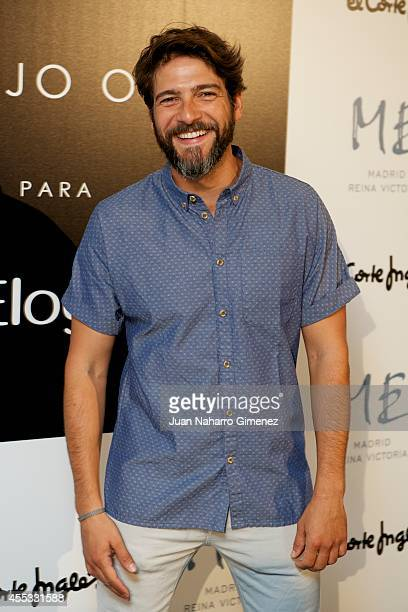 Felix Gomez attends 'Elogy' cocktail at Me Hotel on September 12 2014 in Madrid Spain