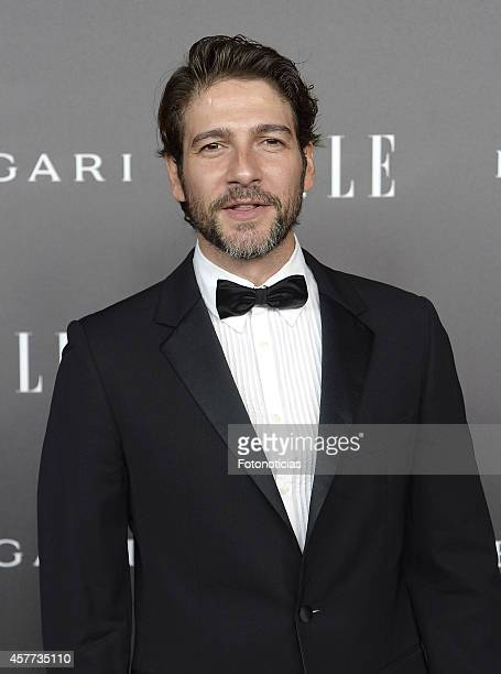 Felix Gomez attends the Elle Style Awards party at the Italian Embassy on October 23 2014 in Madrid Spain