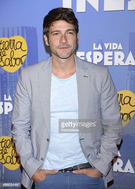 Felix Gomez attends the 'La Vida Inesperada' premiere at Callao cinema on April 24 2014 in Madrid Spain