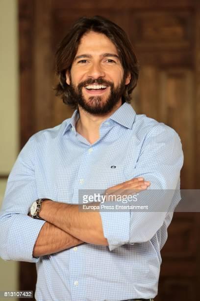 Felix Gomez attends the presentation of TV serie 'Ella es tu padre' on July 11 2017 in Navalcarnero Spain