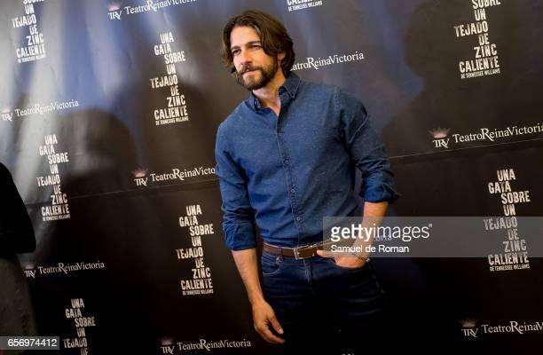 Felix Gomez attends 'Una Gata Sobre Un Tejado de Zinc Caliente' Madrid Premiere on March 23 2017 in Madrid Spain