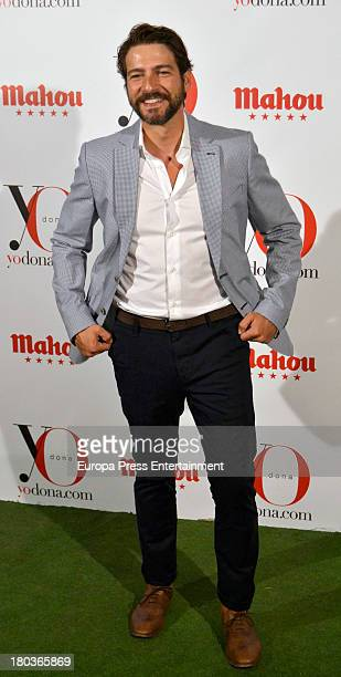 Felix Gomez attends 'Yo Dona' party on September 11 2013 in Madrid Spain