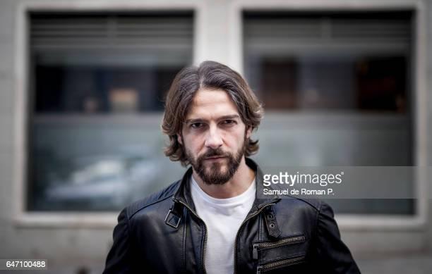 Felix Gomez poses for a portrait session at IBEROSTAR Hotel De Las Letras on March 1 2017 in Madrid Spain