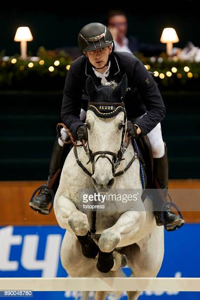 Felix Hassmann attends during CSI Casas Novas Horse Jumping Competition on December 10 2017 in A Coruna Spain