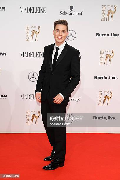 Felix Jaehn arrives at the Bambi Awards 2016 at Stage Theater on November 17 2016 in Berlin Germany