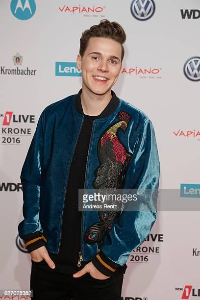 Felix Jaehn attends the 1Live Krone at Jahrhunderthalle on December 1 2016 in Bochum Germany