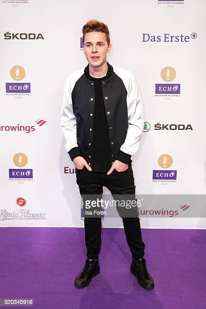 Felix Jaehn attends the Echo Award 2016 on April 07 2016 in Berlin Germany