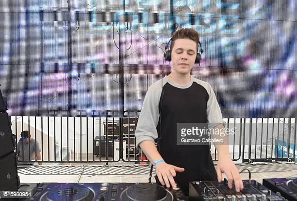 Felix Jaehn performs onstage at SiriusXM Celebrates 10th Anniversary Of The SiriusXM Music Lounge At 1 Hotel South Beach Leading Up To Ultra Music...