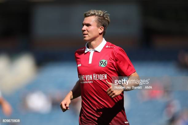 Felix Klaus of Hannover 96 during the PreSeason Friendly between Burnley and Hannover 96 at Turf Moor on August 5 2017 in Burnley England