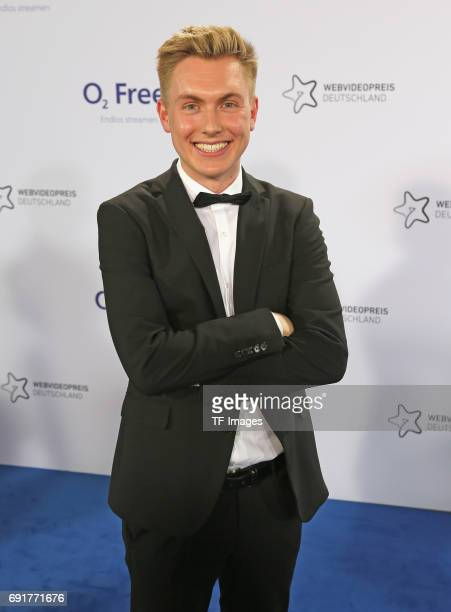 Felix Michels of Tomatolix attends the Webvideopreis Deutschland 2017 at ISS Dome on June 1 2017 in Duesseldorf Germany