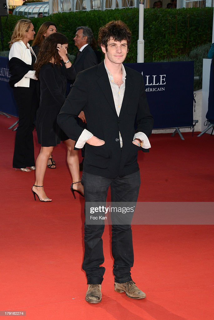 Felix Moati attends the 'Blue Jasmine' Premiere at the 39th Deauville Film Festival at the CID on August 31, 2013 in Deauville, France.