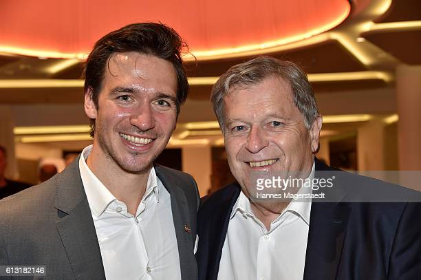 Felix Neureuther and Norbert Haug during the Felix Friends Charity Gala at Hotel Vier Jahreszeiten on October 7 2016 in Munich Germany