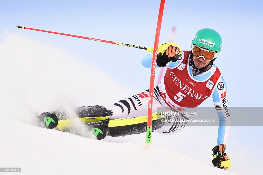 <a gi-track='captionPersonalityLinkClicked' href=/galleries/search?phrase=Felix+Neureuther&family=editorial&specificpeople=807800 ng-click='$event.stopPropagation()'>Felix Neureuther</a> of Germany competes during the Audi FIS Alpine Ski World Cup Men's Slalom on December 14, 2014 in Are, Sweden.