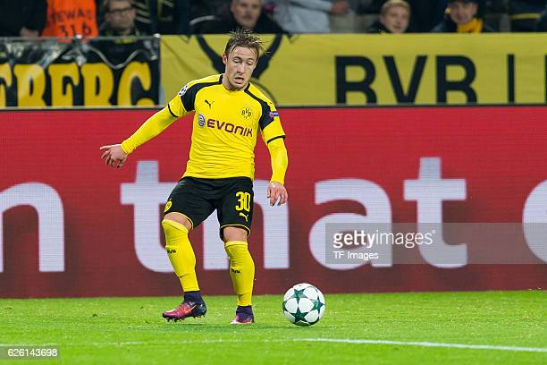 Felix Passlack of Borussia Dortmund in action during the UEFA Champions League First Qualifying Round 2nd Leg match between Borussia Dortmund and...
