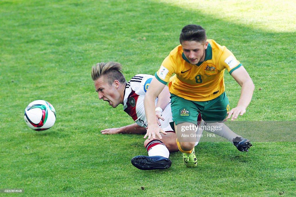 Australia v Germany: Group C - FIFA U-17 World Cup Chile 2015