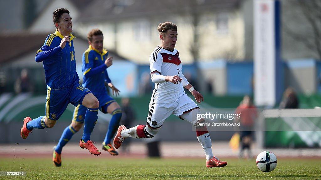 U17 Germany v U17 Ukraine  - UEFA Under17 Elite Round