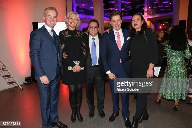 Felix Raslag Saskia Greipl and her husband Stavros Kostantinidis Prof Dr Bruno Meiser and Annette Mattke Managing Director of Rueschenbeck during the...