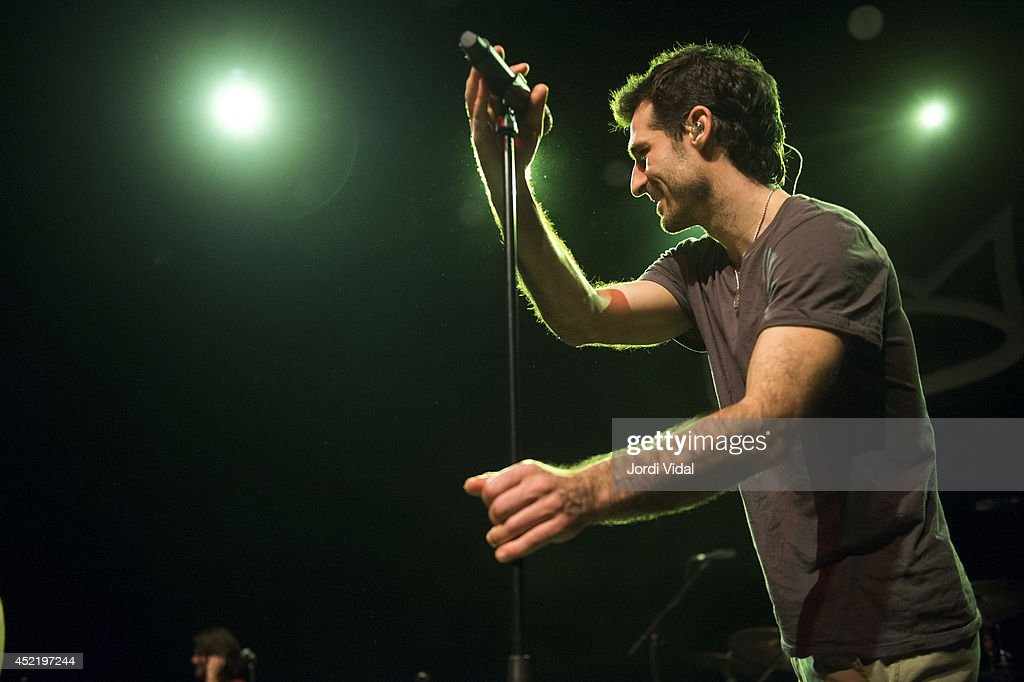 Felix Riebl of The Cat Empire performs on stage at Barts on July 15, 2014 in Barcelona, Spain.