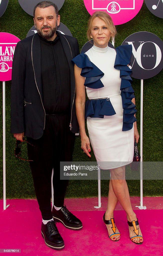 Felix Sabroso and Antonia San Juan attend the 'Yo Dona' international awards at La Quinta de la Munoza on June 27, 2016 in Madrid, Spain.
