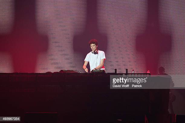 Felix Safran De Laet aka Lost Frequencies performs at Le Zenith on October 23 2015 in Paris France