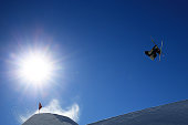 Felix StridsbergUsterud of Norway competes in the FIS Freestyle Ski World Cup Slopestyle Qualification during the Winter Games NZ at Cardrona Alpine...