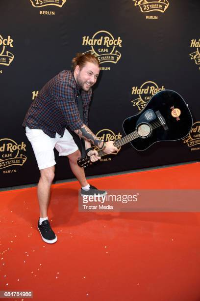 Felix von Jascheroff attends the 25th anniversary celebration at Hard Rock Cafe Berlin on May 18 2017 in Berlin Germany