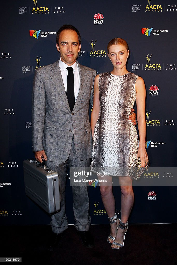 Felix Williamson and Gracie Otto attend the 2nd Annual AACTA Awards Luncheon at The Star on January 28, 2013 in Sydney, Australia.