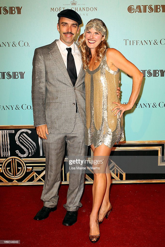 Felix Williamson and Liz Williamson attend the 'Great Gatsby' Australian premiere at Moore Park on May 22, 2013 in Sydney, Australia.