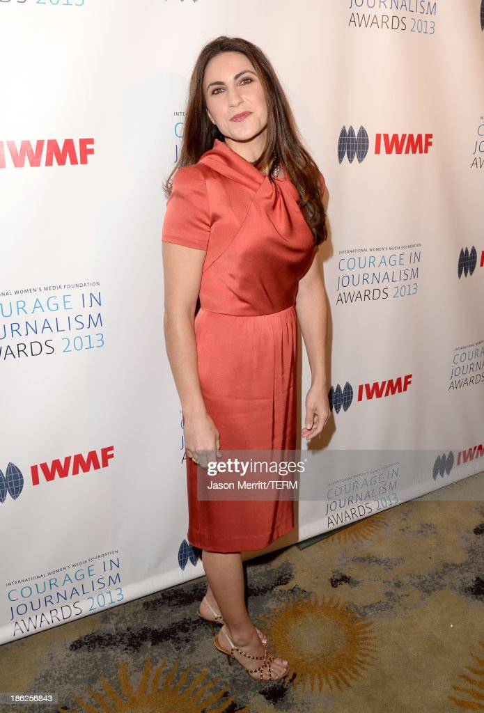 Fellow and Deputy Director of the Women and Foreign Policy Program with the Council on Foreign Relations Gayle Tzemach Lemmon attends the International Women's Media Foundation's 2013 Courage in Journalism Awards at the Beverly Hills Hotel on October 29, 2013 in Beverly Hills, California.