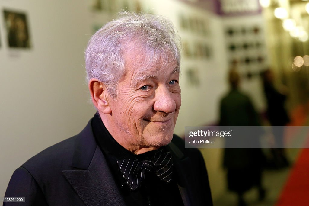 Fellowship Presenter Sir <a gi-track='captionPersonalityLinkClicked' href=/galleries/search?phrase=Ian+McKellen&family=editorial&specificpeople=202983 ng-click='$event.stopPropagation()'>Ian McKellen</a> attends the BFI London Film Festival Awards at Banqueting House on October 17, 2015 in London, England.