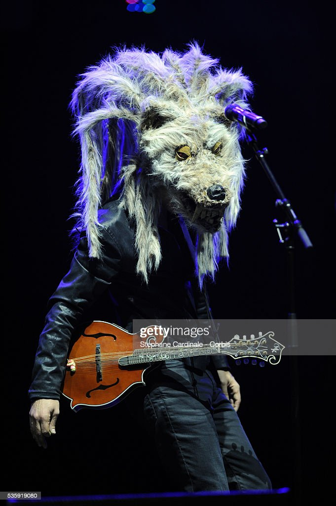 Feloche performs live during the celebration of Prix Constantin 2010 at L'Olympia, in Paris
