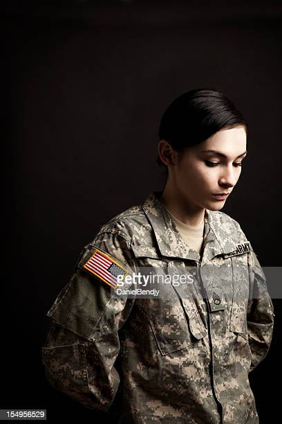 Female American Soldier