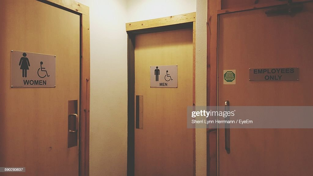 Female And Male Sign On Door & Restroom Sign Stock Photos and Pictures | Getty Images Pezcame.Com